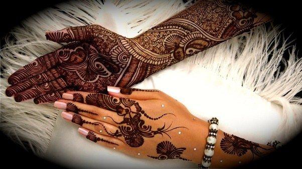Henna pada Lengan