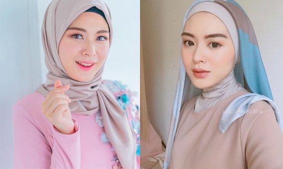 Inspirasi Style Hijab Nuansa Pastel Ala Hijaber Cantik Asal Korea Ayana Jihye Moon Manisnya Keterlaluan