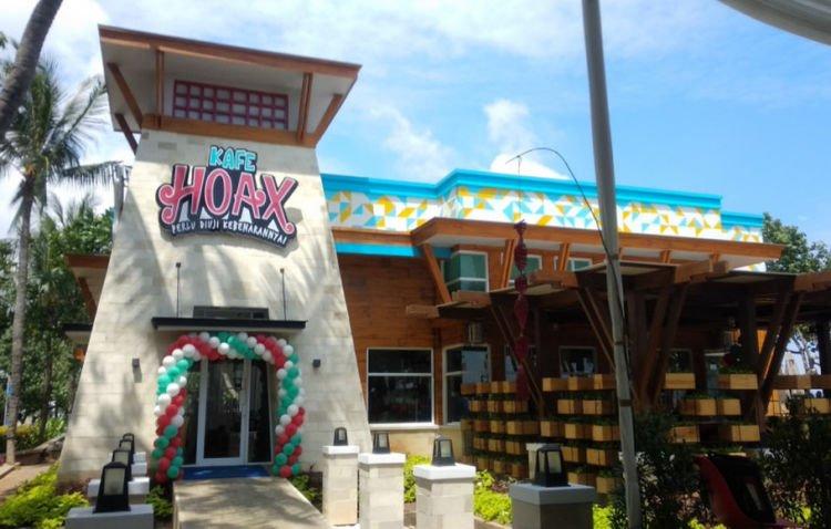 Kafe Unik Hadir Di Jakarta Kafe Hoax Namanya Nama Menunya Lucu