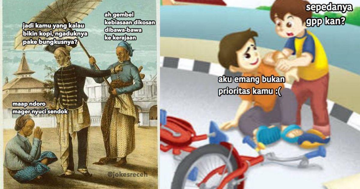 Masih Ingat Cerita Bergambar Saat Kita Sd Begini Jadinya Kalau Kids Zaman Now Yang Bikin Dialognya