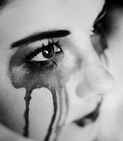 Girl Crying Over