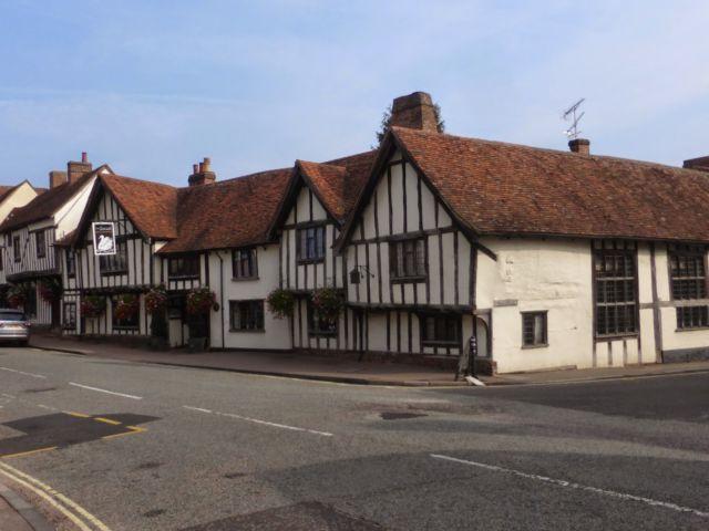 Lavenham Suffolk Village
