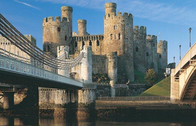 Conwy Castle yang Gagah
