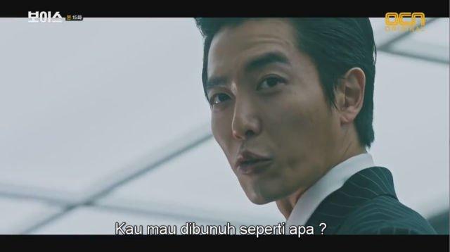 Mo Tae Gu dalam drama Voice