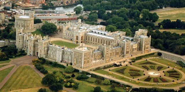 Windsor Castle in UK