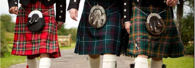 Pakaian tradisional Kilt