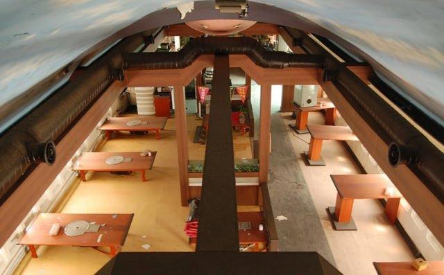 tampilan luar restoran 747