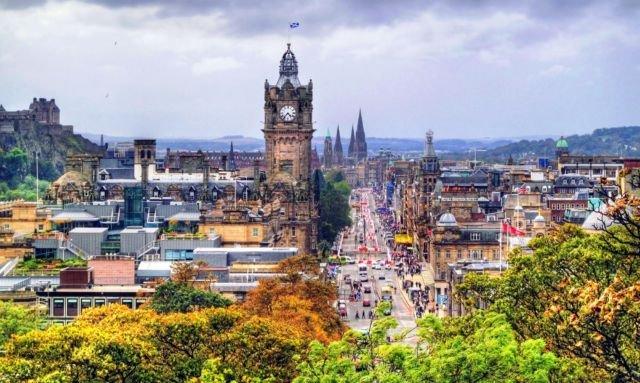 Edinburgh, ibu kota negara terindah di dunia. #AyoKeUK