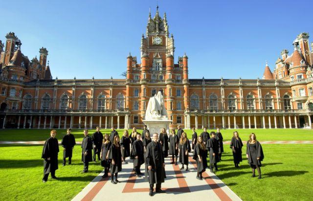 Royal Holloway, University of London yang menawan. #AyoKeUK