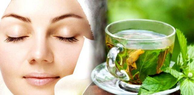teh hijau untuk wajahmu