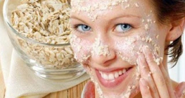 masker oat untuk wajah