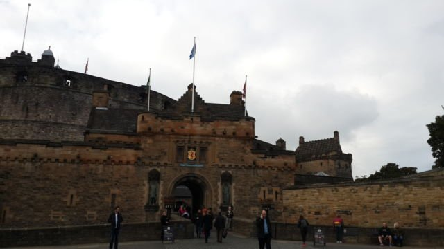 Gagahnya Edinburgh Castle