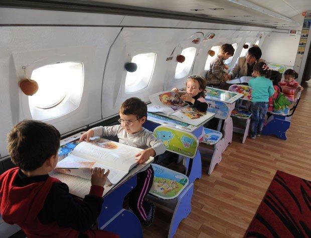 kelas di dalam pesawat