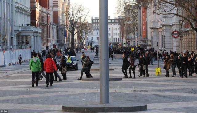 Pedestrians in England