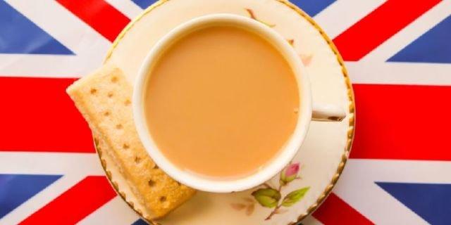 British traditional tea