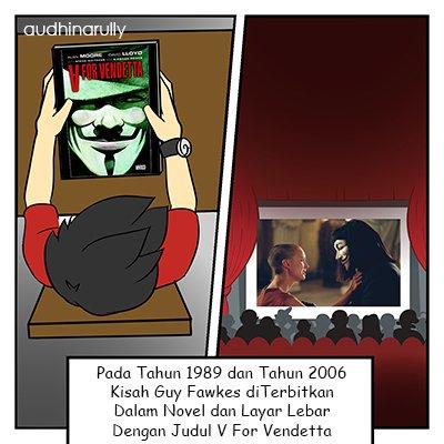 Kepopuleran Guy Fawkes - Ilustrasi Penulis