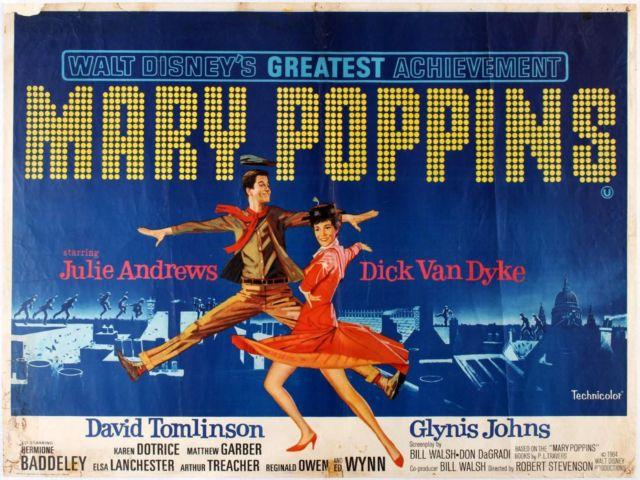 Poster Film Mary Poppins (1964)
