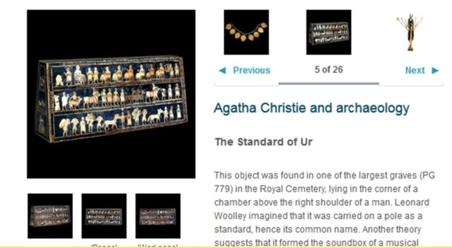 Agatha Christie and Archeology