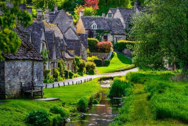 Bibury Village, The Cotswolds