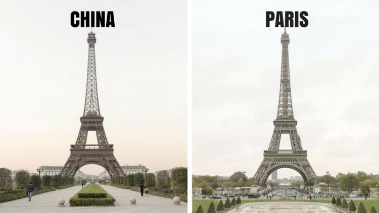 Tianducheng, Kota 'KW' Paris dengan Menara Eiffel dan Sudut Kotanya yang Sama Persis!