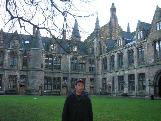 University of Glasgow (Foto Pribadi)
