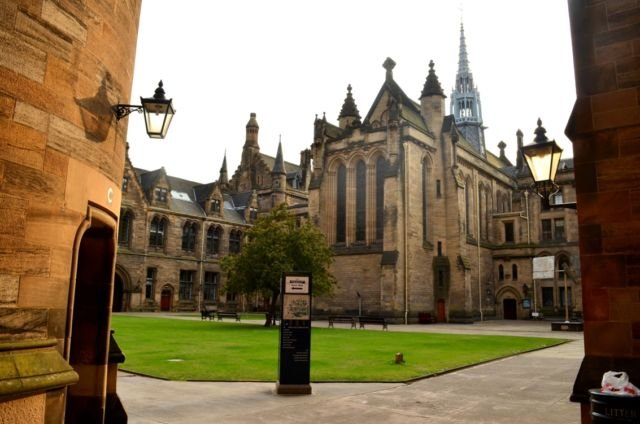 University of Glasgow (Dokumentasi Pribadi)