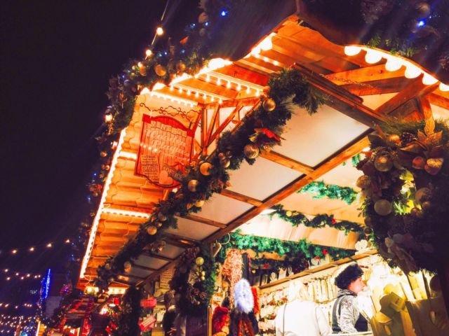 Christmas Market di Nottingham