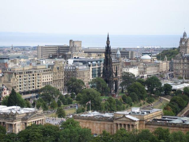 Kota Edinburgh (Foto Pribadi)