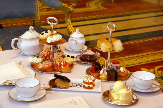afternoon tea london