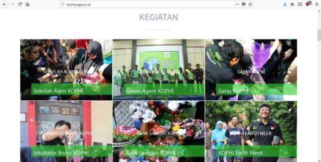 Sejumlah Kegiatan KOPHI Yogyakarta