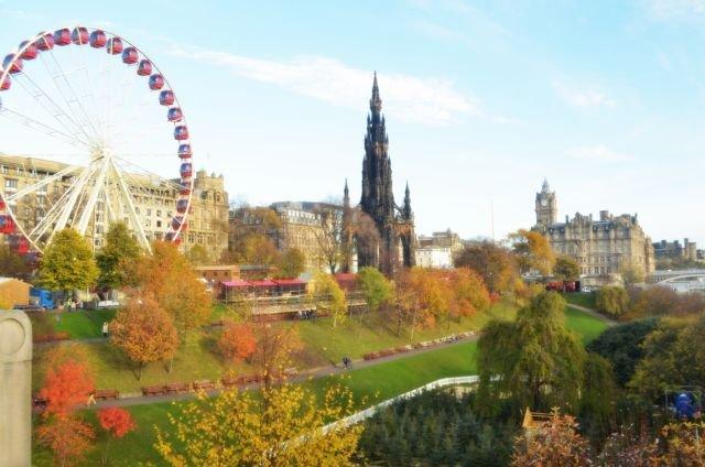 Lanskap kota Edinburgh (Dokumentasi Pribadi)