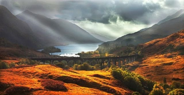 The Jacobite, Scottish Highlands, Skotlandia