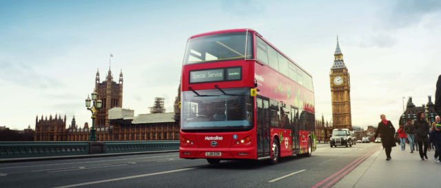 Red-Double Decker Bus