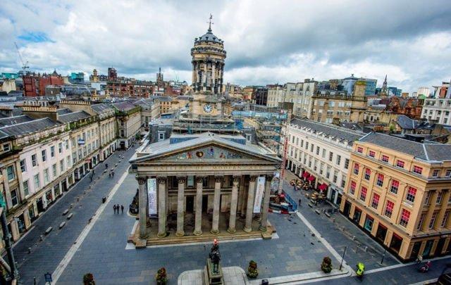 Keindahan kota Glasgow
