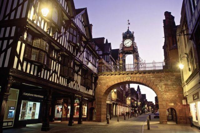 Keunikan kota Cheshire