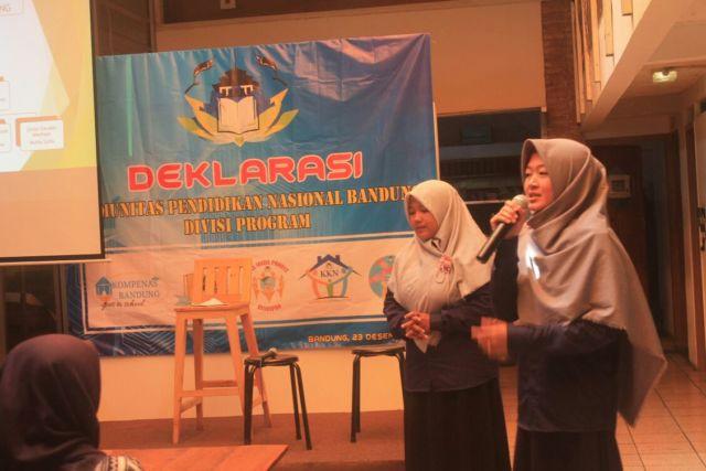 Kegiatan Deklrasi Relawan KOMPENAS Bandung