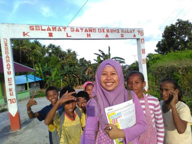 Kegiatan SM3T di Maluku.