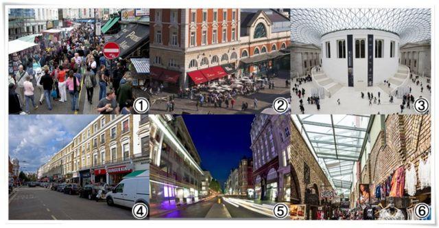 Tempat Oleh-oleh di London