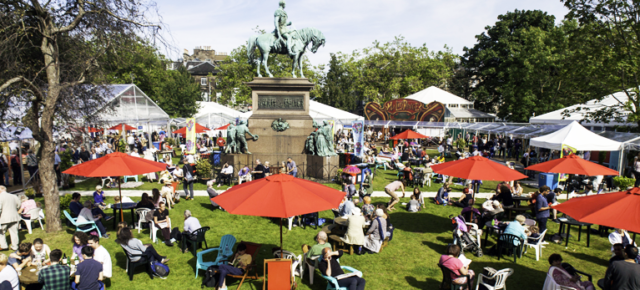 Suasana Edinburgh International Book Festival