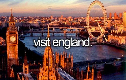 Visit England !