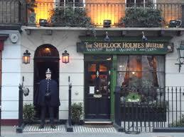 Sherlock Holmes Museum at Baker St 221B