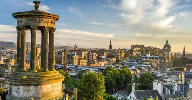 Edinburgh, Skotlandia