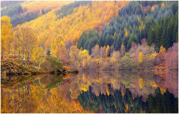 Loch Tummel Scotland