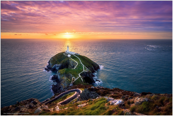 South Stack Lighthouse Wales