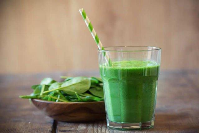 jus hijau dari buah dan sayuran