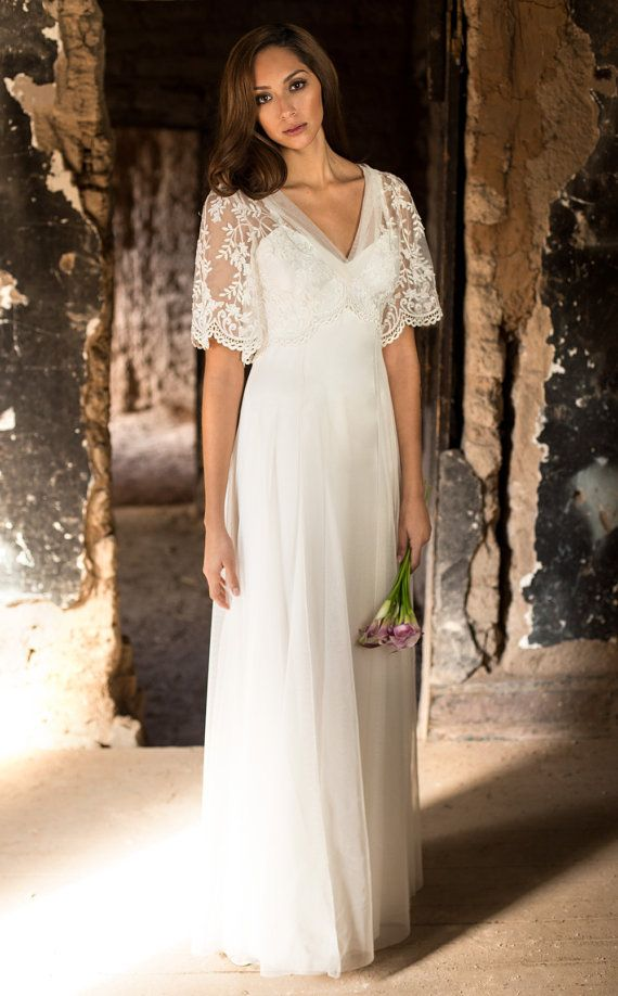 Beautiful Wedding Dresses With Sleeves Pinterest Ideas Styles