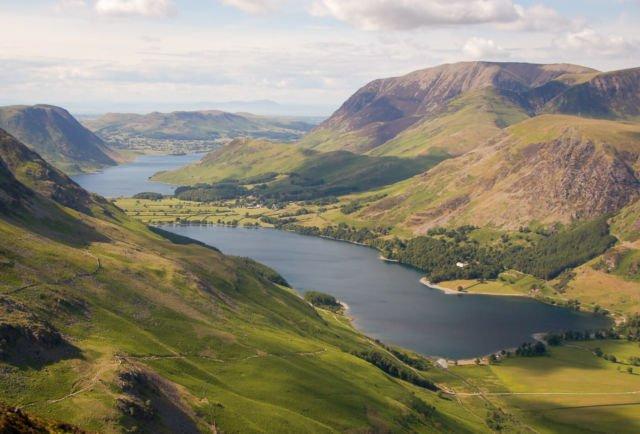 Lake District Mountain