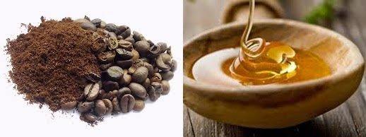 eksfoliasi dengan kopi dan madu