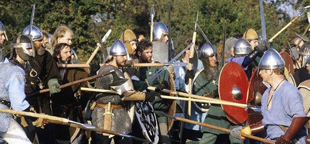 Ilustrasi bangsa Saxon