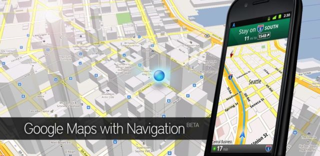 maps for smartphone